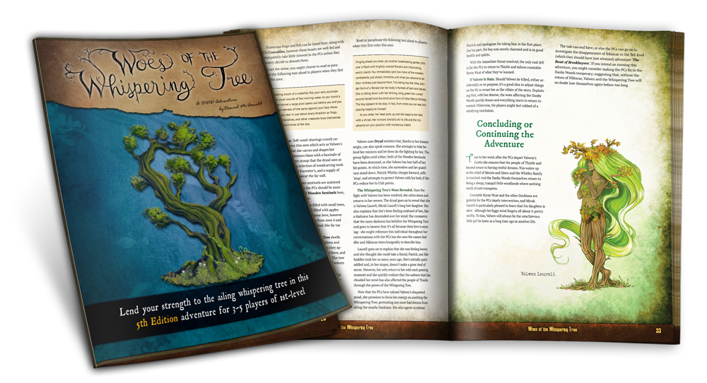 Woes of the Whispering Tree Preview